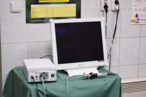 Přístroj používaný v naší klinice.